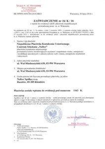 zaswiadczenie nr16K16 ver2 - Naftor Sp. zo.o.