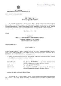 Decyzja 4 - Naftor Sp. zo.o.