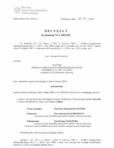 Decyzja5 - Naftor Sp. zo.o.
