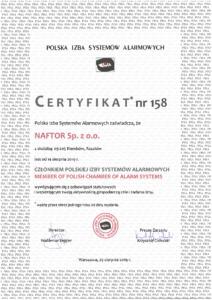 polska izba systemow alarmowych - Naftor Sp. zo.o.