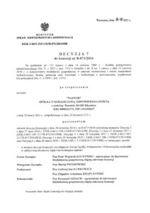 decyzja 7 1 1 - Naftor Sp. zo.o.