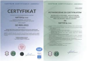 iso 9001 2015 wyd.b wersja 1 1 - Naftor Sp. zo.o.
